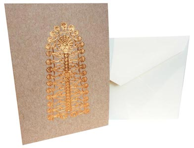 Assyrian Tree of Life Note Card